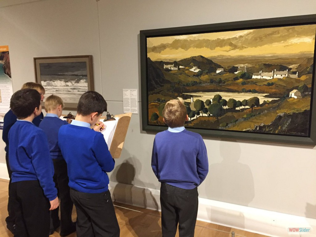 Year 6 visited Oriel Ynys Mon
